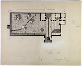 view D-146: Mosul. House plan.SA-II, fig.44 digital asset: Mosul (Iraq): Private House: Ground Plan [drawing]