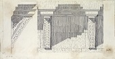 view Cairo (Egypt): Bab al-Futuh: Architectural Details [drawing] digital asset number 1