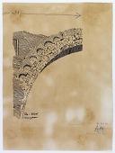 view Madain (Iraq): Taq-i Kisra, Great arch of Ctesiphon: Architectural Detail [drawing] digital asset number 1