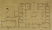 view Mardin (Turkey): Madrasa al-Kasimiya (Kasimiye): Ground Plan [drawing] digital asset number 1