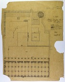 view Urfa (Turkey): Ulu Mosque: Penciled Ground Plan, Drawn and Measured by S. Guyer [drawing] digital asset number 1
