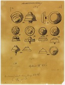 view Excavation of Samarra (Iraq): Nail Heads [drawing] digital asset number 1