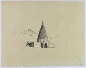 view Bab Munir (Iran): Mausoleum of a Sufi [drawing] digital asset number 1