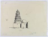 view Zubair (Iraq): Tomb of Hasan al-Basri [drawing] digital asset number 1