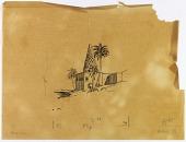 view Susa (Extinct city) (Iran): Tomb of Daniel: Sketch, [drawing] digital asset number 1
