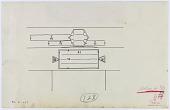 view D-227: Damascus. Turbat al-'Izziya. Inscription over gate.SA-III, fig.80 digital asset: Damascus (Syria): Turbat al-Izziya: Drawing of Inscription Location over Gate [drawing]