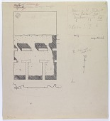view Excavation of Samarra (Iraq): al-Qatun, House XI: Ground Plan [drawing] digital asset number 1