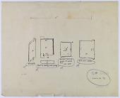view Kuhistan (Iran) and Isfahan (Iran): Stone Doors [drawing] digital asset number 1
