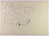 view Sabzawar (Iran): Reconstruction of Prehistoric Pottery: Profiles of Rims [drawing] digital asset number 1