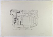 view D-691: Excavation of Kuh-e Khwaja (Iran): Ruins of Fortified Structure Called Kok-e Zal: Ground Plan digital asset: Excavation of Kuh-e Khwaja (Iran): Ruins of Fortified Structure Called Kok-e Zal: Ground Plan [drawing]