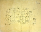 view D-691a: Excavation of Kuh-e Khwaja (Iran): Ruins of Fortified Structure Called Kok-e Zal: Measured Ground Plan digital asset: Excavation of Kuh-e Khwaja (Iran): Ruins of Fortified Structure Called Kok-e Zal: Measured Ground Plan [drawing]