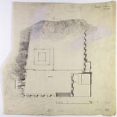 view Masjid i Sulaiman (Iran): Religious Building: Ground Plan [drawing] digital asset number 1
