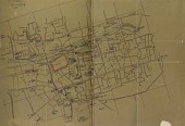 view Damascus (Syria): Map of the Old City, Probably Drawn by Ernst Herzfeld [drawing] digital asset number 1