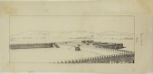 view Excavation of Pasargadae (Iran): Reconstructed View of the Sacred Precinct, drawn by Friedrich Krefter, 1928 [drawing] digital asset number 1
