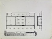 view D-807: Excavation of Pasargadae (Iran): Palace 'P': Reconstructed Ground Plan and Elevations of Ruins, drawn by Friedrich Krefter digital asset: Excavation of Pasargadae (Iran): Palace 'P': Reconstructed Ground Plan and Elevations of Ruins, drawn by Friedrich Krefter, [drawing]