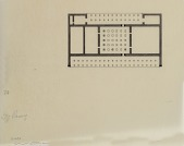 view D-807a: Excavation of Pasargadae (Iran): Palace 'P': Reconstructed Ground Plan and Elevations of Ruins digital asset: Excavation of Pasargadae (Iran): Palace 'P': Reconstructed Ground Plan and Elevations of Ruins [drawing]