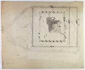 view D-808a: Excavation of Pasargadae (Iran): Mashhad-i-Madar-i-Suleiman at Mausoleum of Cyrus the Great: Ground Plan digital asset: Excavation of Pasargadae (Iran): Mashhad-i-Madar-i-Suleiman at Mausoleum of Cyrus the Great: Ground Plan [drawing]
