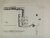 view Excavation of Istakhr (Iran): Excavation Sounding No.1: Plan and Elevation, Drawn by Karl Bergner, 1933 digital asset number 1