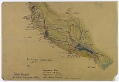view Map of Lower Mesopotamia Including Archaeological Expedition Itinerary of Count de Liedekerke-Beaufort digital asset number 1