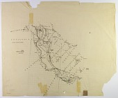 view Excavation of Samarra (Iraq): Topographical Map of the Area North of the Tigris, ca. 1907 digital asset number 1
