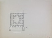 view Excavation of Samarra (Iraq): Shiite Shrine Complex, Shrine of Imam al-Hadi: Ground Plan [drawing] digital asset number 1