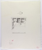 view Excavation of Samarra (Iraq): West of Sur Isa, House XIV: Ground Plan [drawing] digital asset number 1