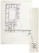 view Excavation of Samarra (Iraq): al-Quraina, House I and House II: Ground Plan [drawing] digital asset number 1