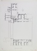view Excavation of Samarra (Iraq): West of Sur Isa, House XII: Ground Plan [drawing] digital asset number 1