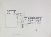 view Excavation of Samarra (Iraq): West of Sur Isa, House XIII: Ground Plan [drawing] digital asset number 1