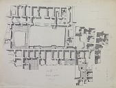 view Excavation of Samarra (Iraq): al-Quraina, House VI and VII: Ground Plan [drawing] digital asset number 1