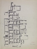view Excavation of Samarra (Iraq): al-Quraina, House III: Ground Plan [drawing] digital asset number 1
