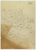 view Map Tracing of Region Comprising Van (Turkey) to Isfahan (Iran), drawn by Ernst Herzfeld digital asset number 1