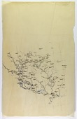 view Map Tracing of Region Comprising Mesopotamia, Armenia, and Assyria, drawn by Ernst Herzfeld digital asset number 1
