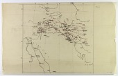 view Map of area including Palestine, Syria, Iraq, and Iran, drawn by Ernst Herzfeld digital asset number 1