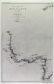 view Geological Map following Expedition Route in West Cilicia, by Ernst Herzfeld, 1907 digital asset number 1