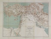 view Map of Near Eastern Asia, Based on H. Kiepert's Map of Turkey, Annotated by Ernst Herzfeld digital asset number 1