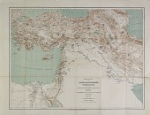 view D-1267b: Map of Near Eastern Asia, Based on H. Kiepert's Map of Turkey, Annotated by Ernst Herzfeld digital asset: Map of Near Eastern Asia, Based on H. Kiepert's Map of Turkey, Annotated by Ernst Herzfeld