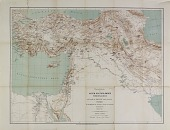 view D-1267c: Map of Near Eastern Asia, Based on H. Kiepert's Map of Turkey, Annotated by Ernst Herzfeld digital asset: Map of Near Eastern Asia, Based on H. Kiepert's Map of Turkey, Annotated by Ernst Herzfeld