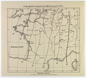 view Three maps Specifying Magnetic Lines Guide for England, France, and Poland, 1917 digital asset number 1