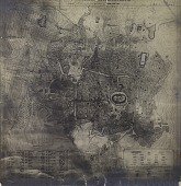 view Aleppo (Syria): Sketch Plan of the City Including Citadel and Mosques [drawing] digital asset number 1