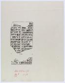 view Fragment of Cuneiform Inscription [drawing] digital asset number 1