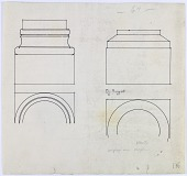 view Unidentified Architectural Drawing [drawing] digital asset number 1