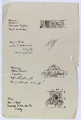 view D-1362: Ma'arat al-Nu'man and Hims (Syria): Fragmentary Transcription of Various Arabic Inscriptions digital asset: Ma'arat al-Nu'man and Hims (Syria): Fragmentary Transcription of Various Arabic Inscriptions [drawing]