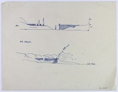 view D-1378: Persia (Iran): Unidentified Canal System digital asset: Persia (Iran): Unidentified Canal System [drawing]