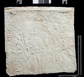 """view SQ 19: Naqsh-i Rustam: print marked. """"Akkad. L"""" IIa 6--12 digital asset: Naqsh-i Rustam (Iran): Squeeze of Inscription, DNb, Akkadian Version, on the Tomb of Darius I"""