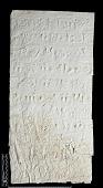 view SQ 117: Naqsh-i Rustam, Great lower inscription. 77--4. digital asset: Naqsh-i Rustam (Iran): Squeeze of Inscription, DNb, Old Persian Version, on the Tomb of Darius I