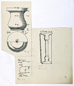 view Excavation of Samarra (Iraq): Typological Study of Marble Ornamentation, [drawing] digital asset number 1