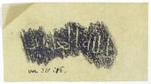 view Excavation of Samarra (Iraq): Rubbing of Graffiti Found in al-Quraina, House IX digital asset number 1