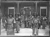 view The Empress Dowager Cixi surrounded by attendants in front of Renshoudian, Summer Palace, Beijing digital asset: The Empress Dowager Cixi surrounded by attendants in front of Renshoudian, Summer Palace, Beijing