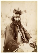 view Seated Dervish Holding Engraved Axe digital asset: Seated Dervish Holding Engraved Axe [graphic]